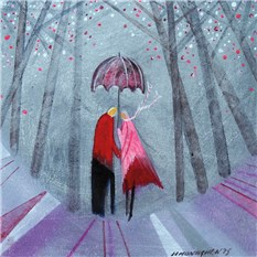 Under the Pink Umbrella