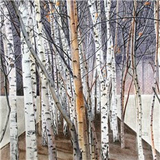 Tate Modern Birches