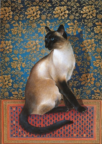 Phuan on a Chinese carpet