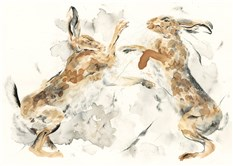 Boxing Hares II