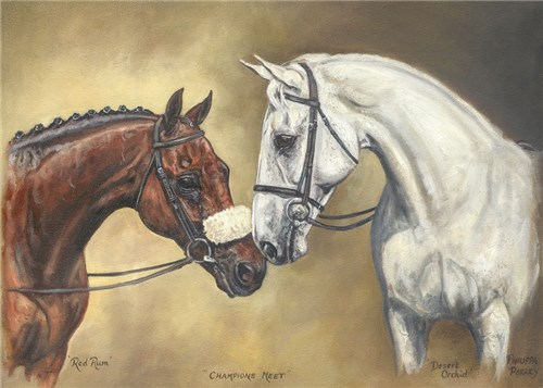 Champions Meet - Red Rum and Desert Orchid